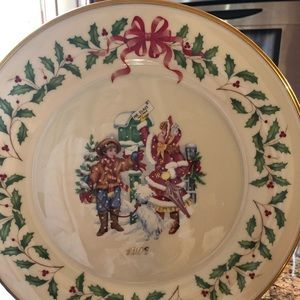 Lennox 1996 annual holiday collectors plate